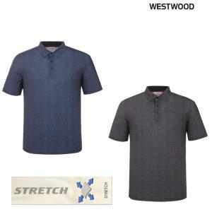 웨스트우드 남성 체크 폴로 티셔츠 WK2MCTP483