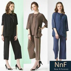 NNF 쉬폰 집업 앙상블세트