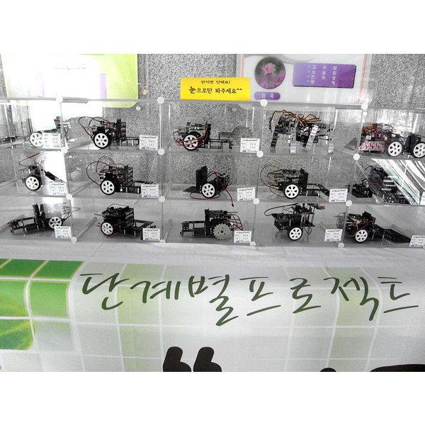 엠블럭3층x5칸15칸형(덮개별도)소품수납장 소품진열장