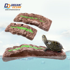 물에 뜨는 거북이 쉼터 (터틀플로팅독 M) 부상성 육지
