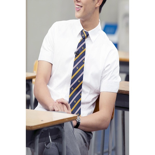 남성용 여름교복/남학생 기본셔츠/그레이팬츠/하복