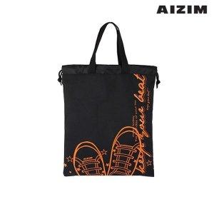 AIZIM 학생 신발주머니 보조가방 실내화백 ASK008KBK