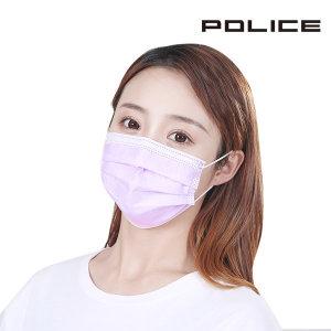 일회용마스크 퍼플50장/침튀김방지/케이스별도/판촉물