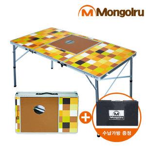 3폴딩 BBQ테이블/캠핑테이블/바베큐테이블/화로대
