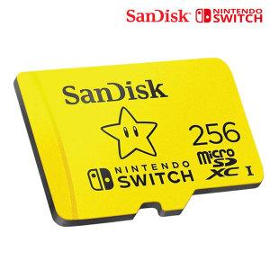 닌텐도 스위치 메모리카드 SD카드 256G 공식인증품