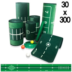 피스탑  제이빅- 골프 퍼팅매트/골프연습용품/볼궤적표시30x300