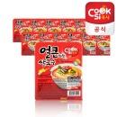 한스코리아공식 쿡시쌀국수 얼큰한맛 12개 1BOX