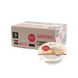 무배 CJ햇반 200g 24개 1박스 즉석밥 흰쌀밥 CJ 무배 C