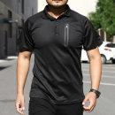 기능성 반팔 카라 티셔츠 퀵 드라이 전술티 MT105