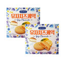 유자치즈케익(10개입)190gX2곽 파이 간식 디저트 과자