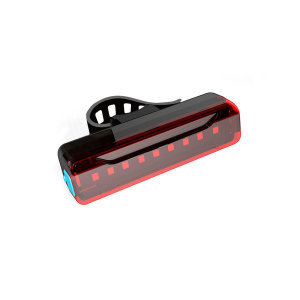 USB 충전식 자전거 LED 방수 후미등 생활방수