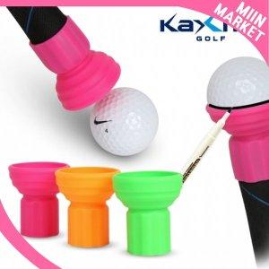 골프공 픽업기 라이너 2in1 실리콘 볼회수 색상랜덤