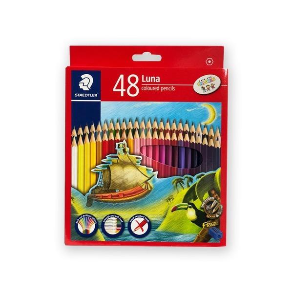 스테들러 루나색연필 48색 136 C48
