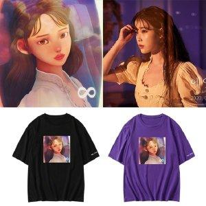 IU 에잇 아이유 티셔츠 반팔 굿즈