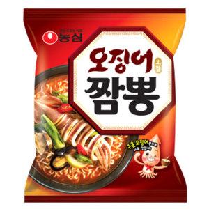 무료배송 농심 오징어 짬뽕 124gx40봉지