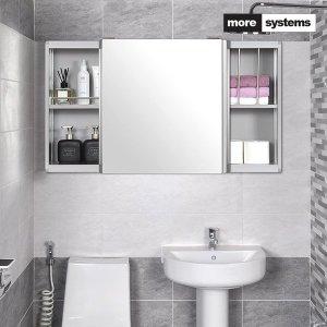 모아시스템즈  국산 고급 모던 알루미늄 욕실장 A타입 1000x600