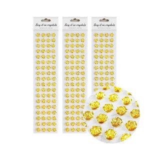 금색 장미 엔틱 보석 스티커 비즈 인테리어 폰꾸미기