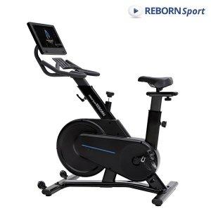 리본스포츠  리본 스핀바이크  Q200X +15.6인치 모니터 실내 자전거 운동기구