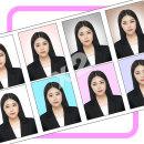 18장_증명사진 인화(배경+정장합성)여권사진 정장합성