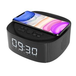 블루투스 스피커 탁상 시계 고속 무선 충전기