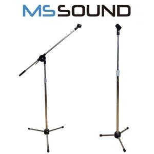 MS-STD09 국산 T자 마이크스탠드 ALL스틸 5.5kg
