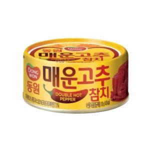 동원매운고추참치100g/동원참치/참치캔/고추참치