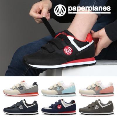 [페이퍼플레인] 운동화 PP1431 신발 스니커즈 밸크로 커플 빅사이즈