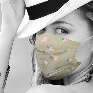 메쉬마스크 비말차단 숨쉬기편한 면마스크 여름  패션