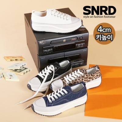 [페이퍼플레인] SNRD 여성 키높이 운동화 캔버스화 스니커즈 SN572