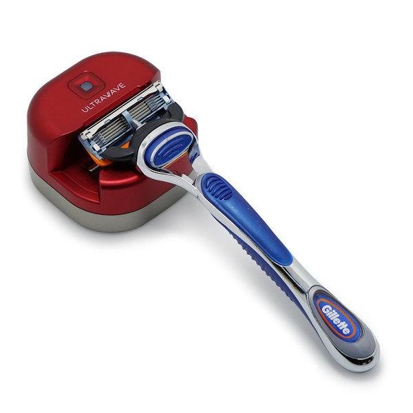 RS-01 레드 UVC LED 무선 면도기 살균기 물세척가능