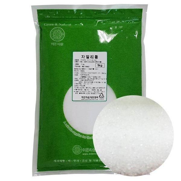 자이리톨크리스탈 1kg 설탕대용 굵은입자 천연감미료