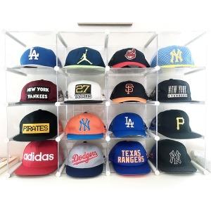 엠블럭 - 모자진열장 MLB 스냅백 모자진열대