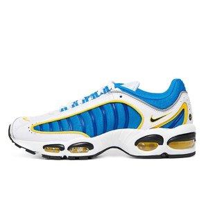나이키 에어 맥스 테일윈드 4 화이트 블루 옐로우 CD0456100_신발_운동화