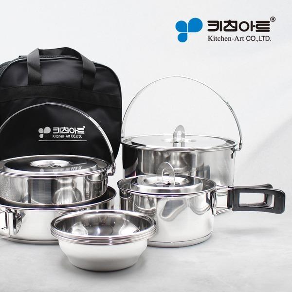 캠핑용품 (스텐27종) 챔프코펠 12p / 국산제품