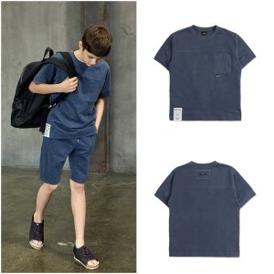 남아 차콜그레이 스�� 티셔츠 ATB1TS01CG
