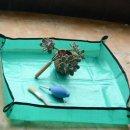 화분 화초 분갈이 매트68cm-식물 원예 도구 분갈이 흙
