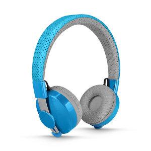 릴가젯 어린이 청력보호 블루투스 무선 헤드셋 블루