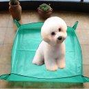 강아지 털깍기 미용 매트68cm-목욕 이발 털관리