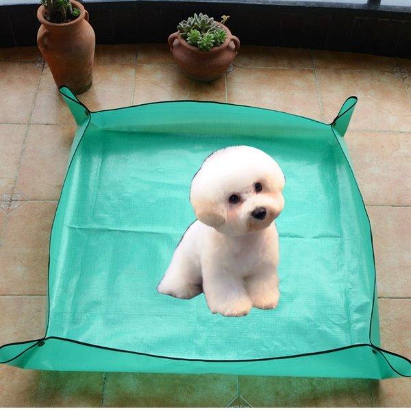 강아지 털깍기 미용 매트1m-목욕 이발 털관리