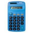 헬릭스 미니 전자계산기 블루 일반용 사무용 휴대용