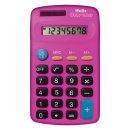 헬릭스 미니 전자계산기 핑크 일반용 사무용 휴대용