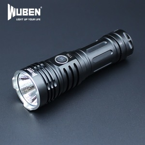 우벤 T70 4200루멘 고성능 LED후레쉬 충전식 손전등