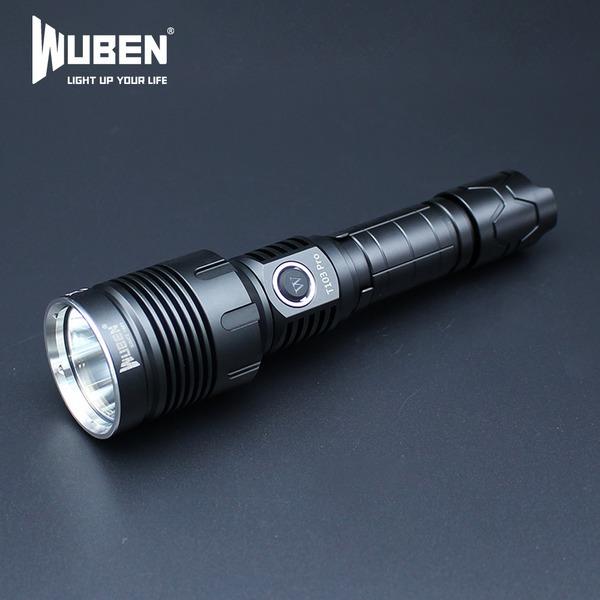우벤 T103 1280루멘 고급형 LED후레쉬 충전식 손전등