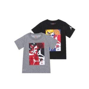 나이키키즈 조던 주니어 CD 로고믹스 반팔 티셔츠 NPM13QTS73