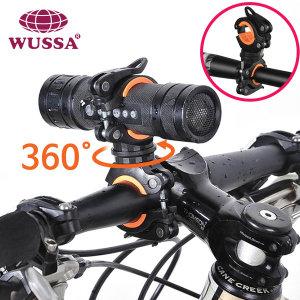 자전거 후레쉬 거치대 LED 라이트 전조등 랜턴 용품