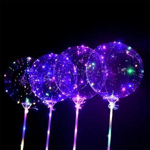 LED 투명풍선세트 파티용풍선 기념일 파티룸 야광축제