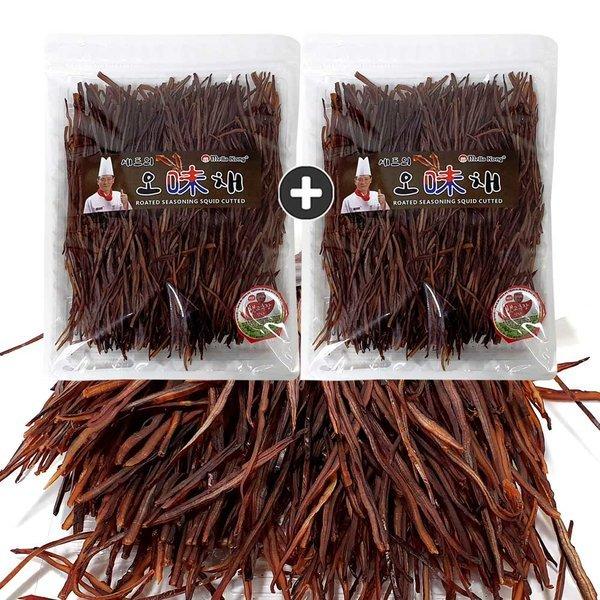 구운오징어 귀채(300g) x 2봉 오징어채