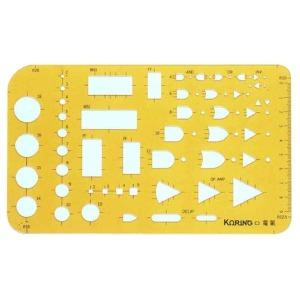 코링 전기정규 K-E3 템플렛 모형자 모양자