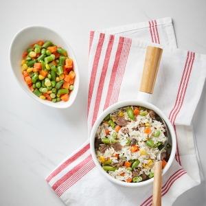 냉동 5종혼합야채 1kg (완두 당근 옥수수 그린빈)