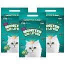 몬스터캣리터 두부모래 고양이모래 녹차향 8L x 3개입